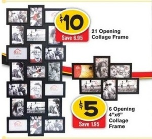 21 Opening Collage Frame