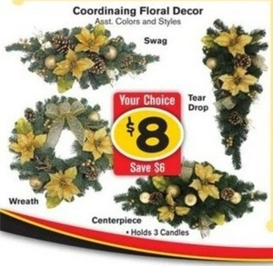 Coorinating Floral Decor