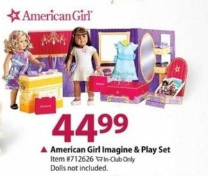 American Girl Imagine & Play Set