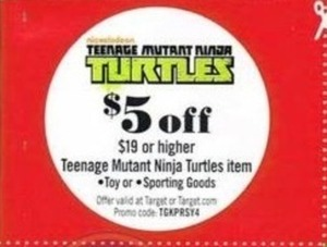 Teenage Mutant Ninja Turtles Coupon