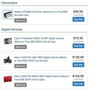 Nikon COOLPIX S6500 16.0MP Digital Camera + Free Case & 8GB Memory Card
