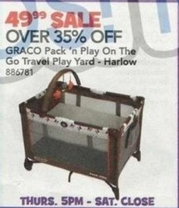 GRACO Pack 'n Play On The Go Travel Play Yard - Harlow