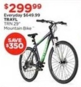 "Trayl TRN 29"" Mountain Bike"