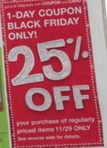 Regularly Priced Items Coupon