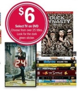 Select TV on DVDs
