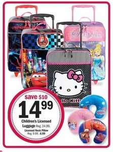 Kids' Licensed Luggage