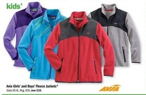 Avia Boy's Fleece Jackets