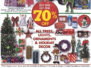 All Lights, Trees, Ornaments & Holiday Decor