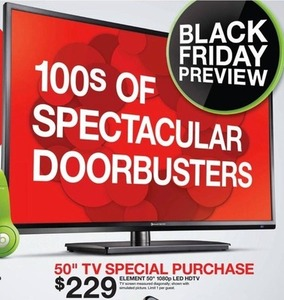 "Element 50"" 1080p LED HDTV"