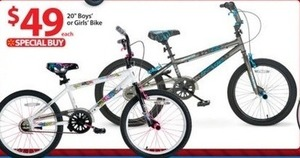 "20"" Boys or Girls Bike"
