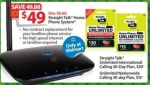 Straight Talk Unlimited International Calling 30-Day Plan