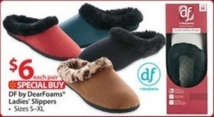 DF by Dearfoams Women's Slippers