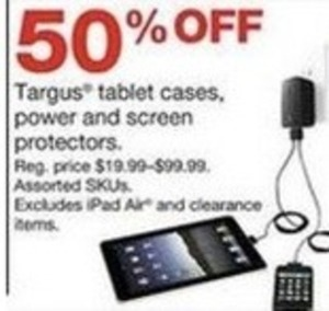 Targus Tablet Cases, Power and Screen Protectors