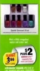 Wet n Wild Megalast Nail Color Set + $2 ExtraBucks