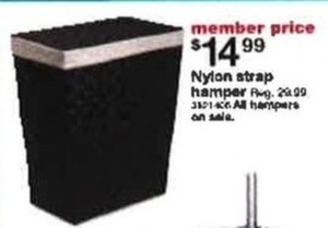 Nylon Strap Hamper