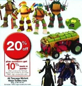 All Teenage Mutant Ninja Turtles Toys