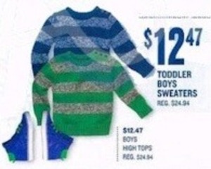 Toddler Boys Sweaters