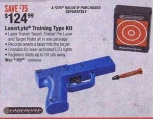 LaserLyte Training Type Kit
