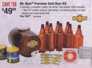 Mr. Beer Premium Gold Beer Kit