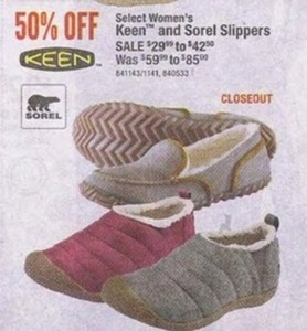 Select Keen & Sorel Women's Slippers