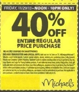 Entire Regular Price Purchase (After Coupon) - Fri Noon - 10pm