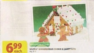 Wilton Gingerbread Cookie & Candy Kits