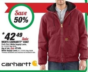 Men's Carhartt Coat