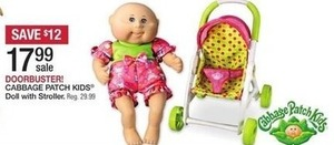 Cabbage Patch Kids Doll w/ Stroller