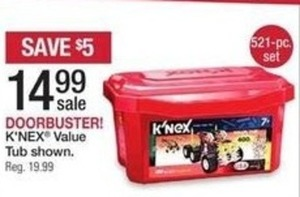 K'nex Value Tub
