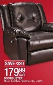 Orion Leather Recliner