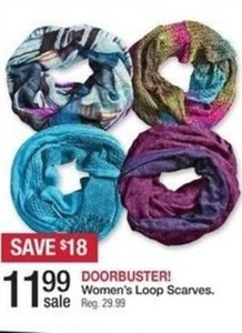 Women's Loop Scarves