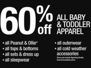 Entire Stock Baby & Toddler Apparel