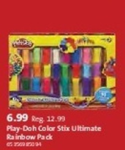 Play-Doh Color Stix Ultimate Rainbow Pack