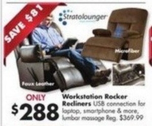 Workstation Rocker Recliners