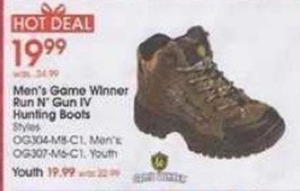 Men's Game Winner Run N' Gun IV Hunting Boots
