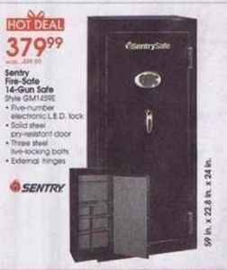 Sentry Fire-Safe 14-Gun Safe