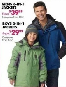 Men's 3-in-1 Jackets