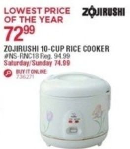 Zojirushi 10C Rice Cooker