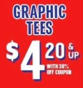 Graphic Tees (After Coupon BLACKFRIDAY)