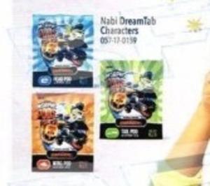 Nabi DreamTab Characters Tail Pod