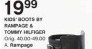 Rampage & Tommy HIlfiger Kids' Boots