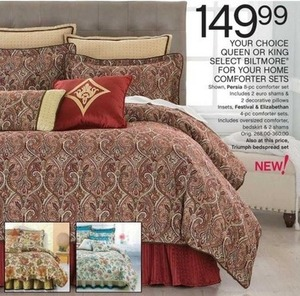 Queen Select Biltmore For Your Home Comforter Sets