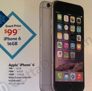 128GB iPhone 6