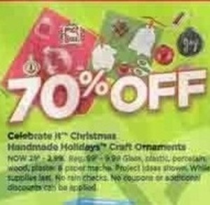 Celebrate It Christmas Handmade Holidays Craft Ornaments