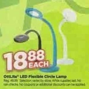 Ottlite LED Flexible Circle Lamp