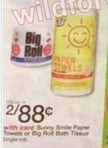 Sunny Smile Paper Towels
