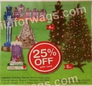Lighted Holiday Decor Items