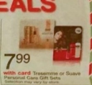 Tresemme or Suave Personal Care Gift Sets