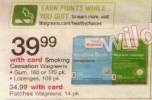 Walgreens Smoking Cessation Patches