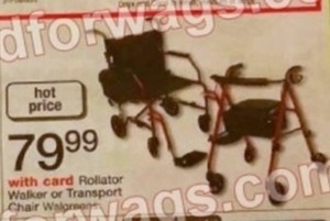 Rollator Walker or Transport Chair